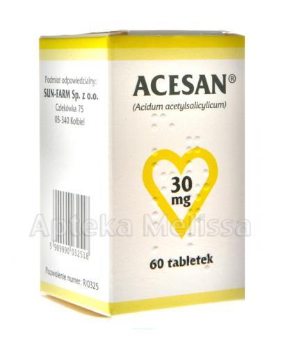 ACESAN 30 mg - 60 tabl. - Apteka internetowa Melissa
