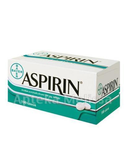 ASPIRIN - 100 tabl. - Apteka internetowa Melissa