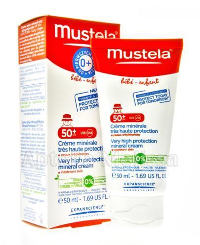 Mustela Sun Krem mineralny SPF50+ - Apteka internetowa Melissa