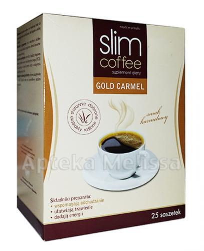 SLIM COFFEE GOLD CARMEL - 150 g  - Apteka internetowa Melissa