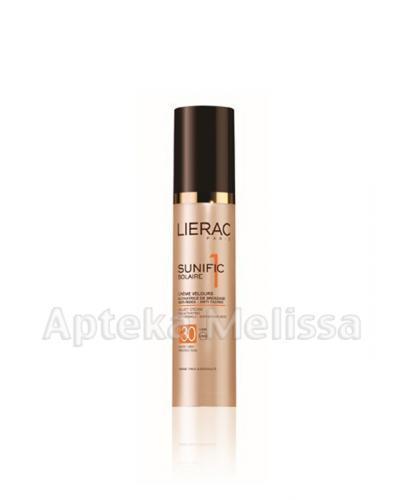 LIERAC SUNIFIC 1 Aksamitny krem ochronny SPF30 do twarzy i dekoltu - 50 ml - Apteka internetowa Melissa