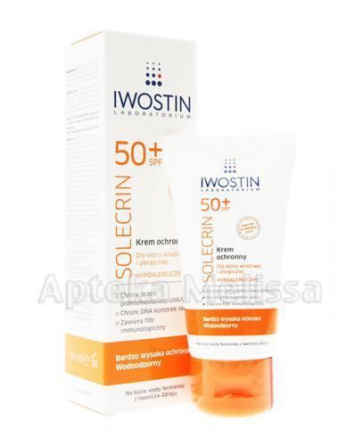 IWOSTIN Solecrin SPF 50+ Krem ochronny - 50 ml - Apteka internetowa Melissa