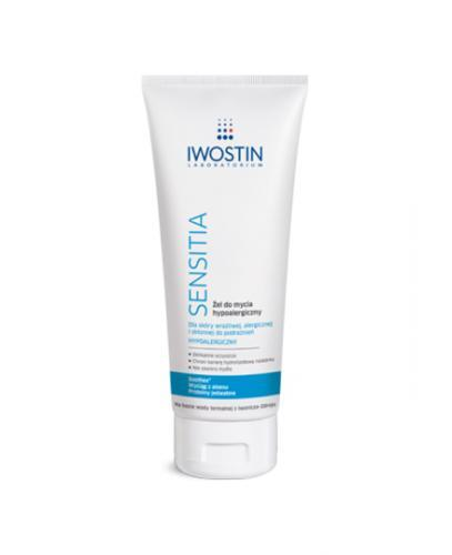 IWOSTIN SENSITIA Żel do mycia hypoalergiczny - 200 ml - Apteka internetowa Melissa