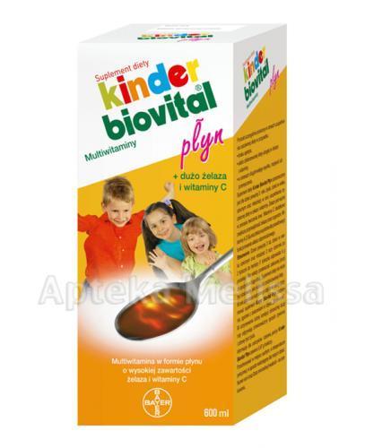 KINDER BIOVITAL Płyn multiwitamina - 650 ml - Apteka internetowa Melissa