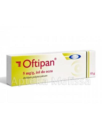OFTIPAN 0,5% Żel do oczu - 10 g  - Apteka internetowa Melissa