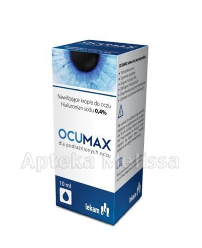 OCUMAX 0,4% Krople do oczu - 10 ml - Apteka internetowa Melissa
