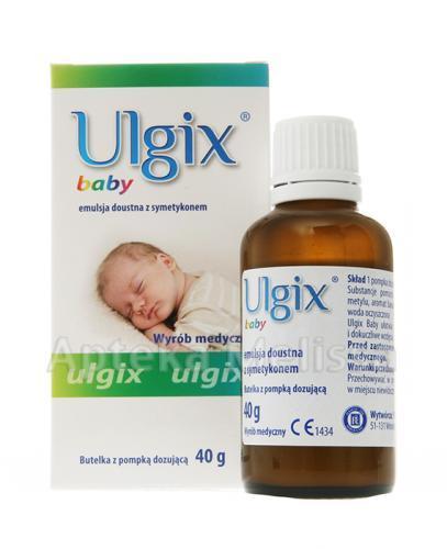 ULGIX BABY Emulsja doustna - 40 g Data ważności: 2017.04.30 - Apteka internetowa Melissa