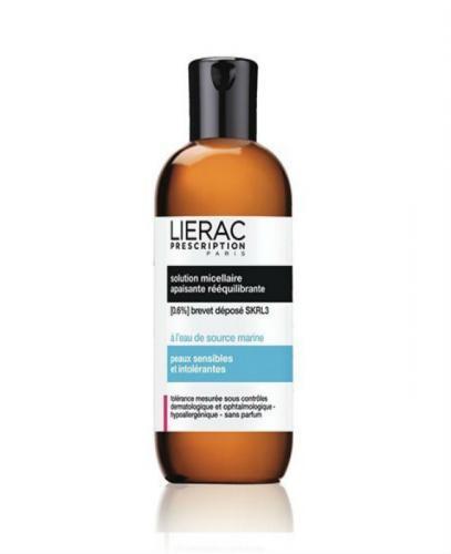 LIERAC PRESCRIPTION Płyn micelarny skóra nadwrażliwa i nadreaktywna - 200 ml - Apteka internetowa Melissa