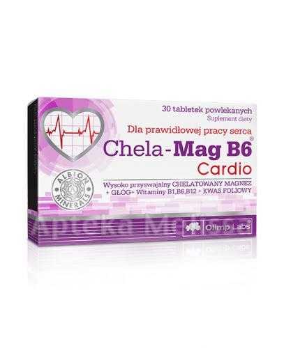 OLIMP CHELA MAG B6 CARDIO - 30 tabl.