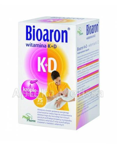 BIOARON WITAMINA K+D twist-off - 75 kaps.