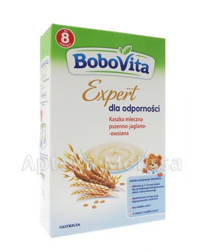 BOBOVITA EXPERT DLA ODPORNOŚCI Kaszka mleczna pszenno-jaglano-owsiana - 250 g - Apteka internetowa Melissa