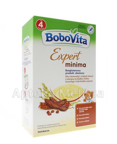 BOBOVITA EXPERT MINIMA Bezglutenowy produkt zbożowy - 350 g  - Apteka internetowa Melissa