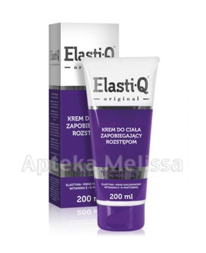 ELASTI-Q Krem do ciała zapobiegający rozstępom - 200 ml - Apteka internetowa Melissa