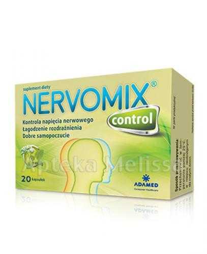 NERVOMIX CONTROL - 20 kaps.