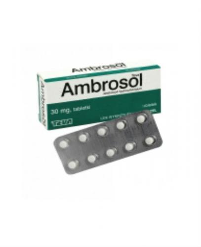 AMBROSOL TEVA 30 mg - 20 tabl.   - Apteka internetowa Melissa