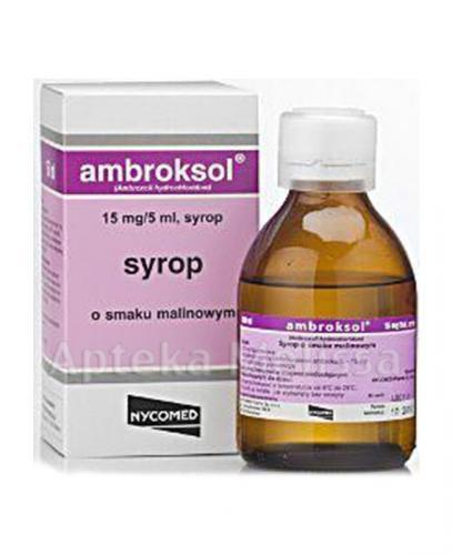 AMBROKSOL NYCOMED 15 mg/5 ml - 150 ml