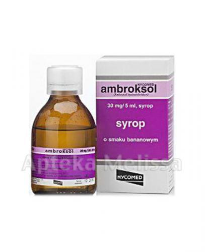 AMBROKSOL NYCOMED 30 mg/5 ml - 150 ml - Apteka internetowa Melissa