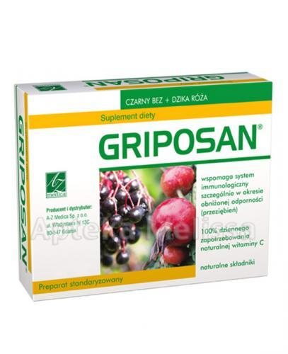 GRIPOSAN - 30 kaps. - Drogeria Melissa