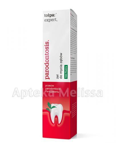 TOŁPA EXPERT PARODONTOSIS Żel do mycia zębów bez fluoru - 75 ml - Apteka internetowa Melissa