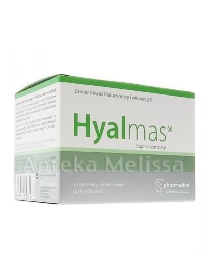 HYALMAS Proszek z kwasem hialuronowym - 15 sasz. W chorobie zwyrodnieniowej stawów. - Apteka internetowa Melissa