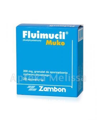 FLUIMUCIL MUKO 200 mg - 20 sasz. - Apteka internetowa Melissa