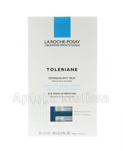 LA ROCHE TOLERIANE Preparat do demakijażu oczu - 30 amp. x 5 ml