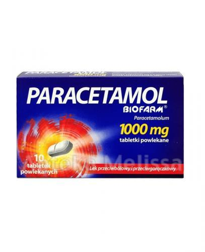 PARACETAMOL Biofarm 1000 mg - 10 tabl. - Apteka internetowa Melissa