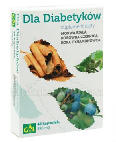 GAL Dla diabetyków - 48 kaps. - Apteka internetowa Melissa