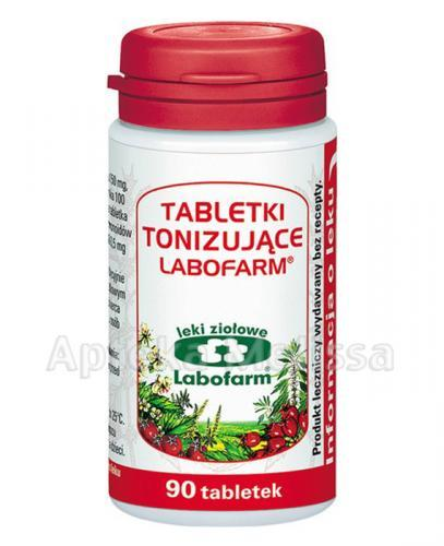 LABOFARM Tabletki tonizujące  - 90 tabl. - Apteka internetowa Melissa