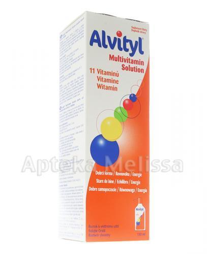 ALVITYL Syrop - 150 ml  - Apteka internetowa Melissa