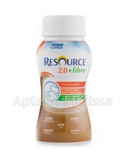 RESOURCE 2.0 FIBRE Smak kawowy - 200 ml - Apteka internetowa Melissa
