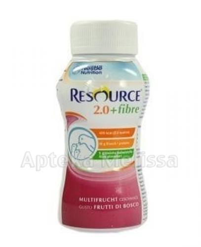 RESOURCE 2.0 FIBRE Smak owoców leśnych - 200 ml - Apteka internetowa Melissa