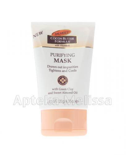PALMERS Maska oczyszczająca do twarzy - 120 g - Apteka internetowa Melissa