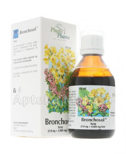 BRONCHOSOL Syrop - 100 ml - Apteka internetowa Melissa