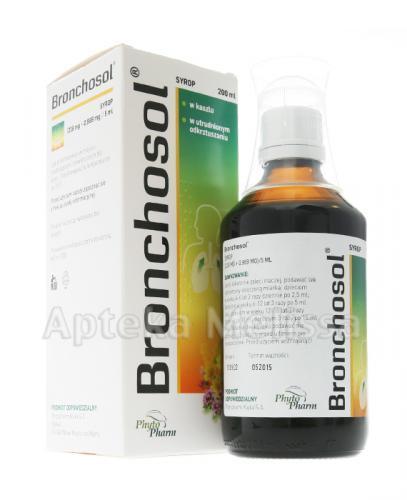 BRONCHOSOL Syrop - 200 ml - Apteka internetowa Melissa