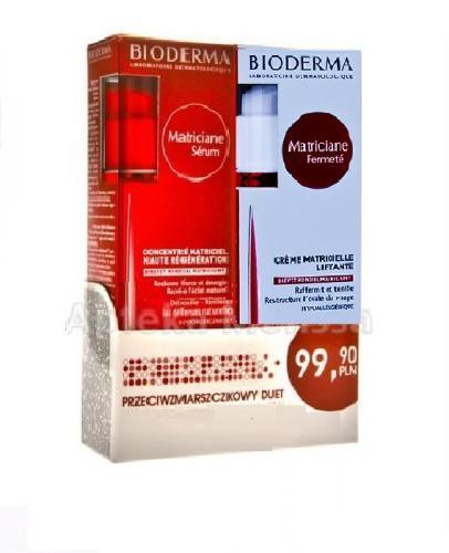 BIODERMA MATRICIANE ZESTAW Serum intensywnie regenerujące - 30 ml + Fermete krem liftingujący - 30 ml - Apteka internetowa Melissa