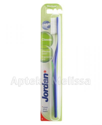 JORDAN CLASSIC MEDIUM Szczoteczka do zębów - 1 szt. - Apteka internetowa Melissa