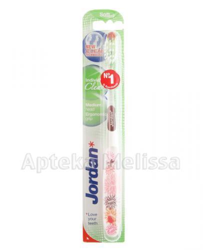 JORDAN INDIVIDUAL CLEAN SOFT Szczoteczka do mycia zębów - 1 szt. - Apteka internetowa Melissa