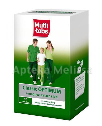 MULTI-TABS CLASSIC OPTIMUM - 90 tabl. - Apteka internetowa Melissa