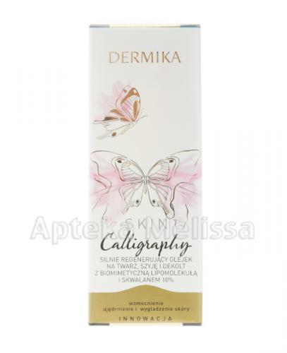 DERMIKA SKIN CALLIGRAPHY Olejek silnie regenerujący na twarz, szyję i dekolt - 30 ml - Apteka internetowa Melissa