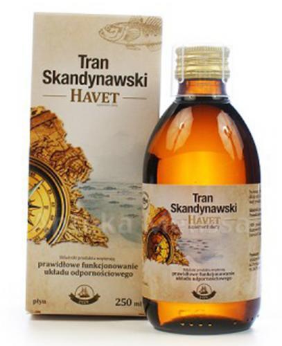 HAVET Tran skandynawski - 250 ml - Apteka internetowa Melissa