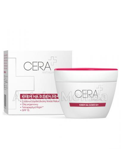 CERA PLUS ANTIAGING Krem na dzień 50+ - 50 ml - Apteka internetowa Melissa
