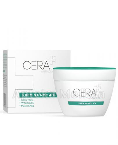 CERA PLUS ANTIAGING Krem na noc 40+ - 50 ml
