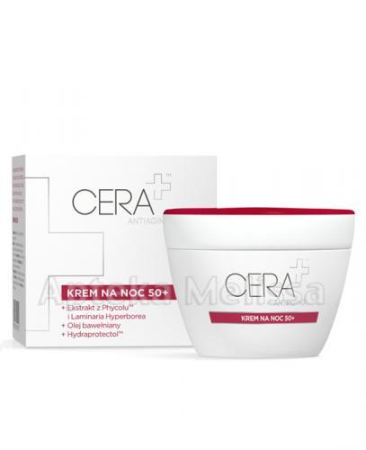 CERA PLUS ANTIAGING Krem na noc 50+ - 50 ml
