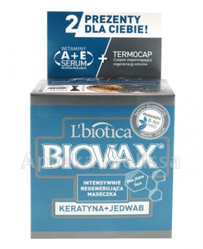 BIOVAX KERATYNA + JEDWAB Intensywnie regenerująca maseczka - 500 ml - Apteka internetowa Melissa