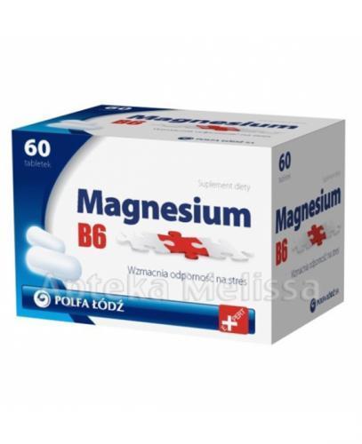 MAGNESIUM B6 - 60 tabl. - Apteka internetowa Melissa