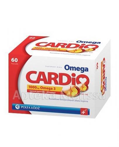 OMEGA-3 CARDIO 1000 mg - 60 kaps. - Apteka internetowa Melissa