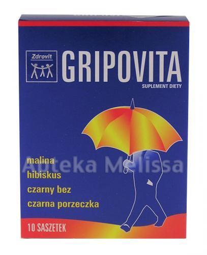 GRIPOVITA - 10 sasz. - Apteka internetowa Melissa