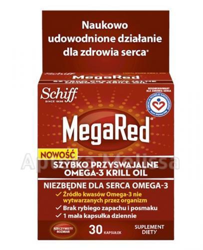 MEGARED OMEGA 3 KRILL OIL - 30 kaps. - Apteka internetowa Melissa