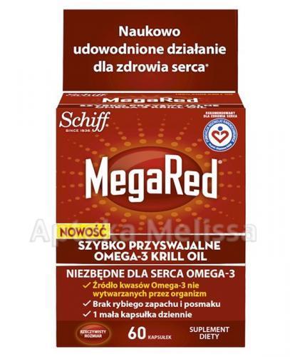 MEGARED OMEGA 3 KRILL OIL - 60 kaps. - Apteka internetowa Melissa
